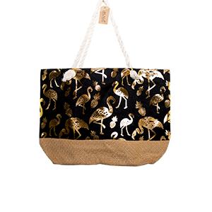 Bag Flamingo Gold