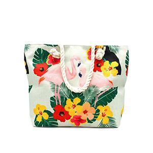 Bag flamingo tropi